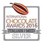 International Chocolate Awards 2015 - Silver - Italian-Med - pri